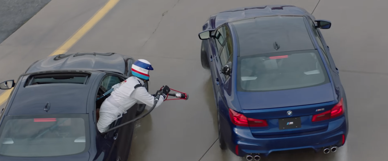 BMW Wants to Break Drift Records With Mid-Drift Refueling