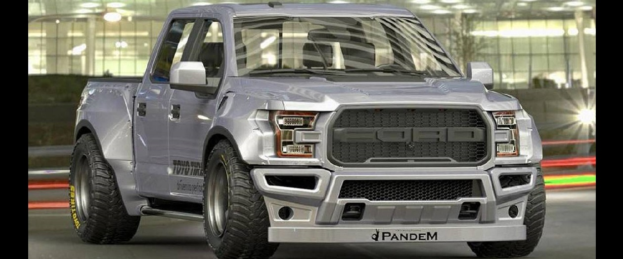 Japanese Mod Shop Unveils a Wide Body F-150 Raptor Kit