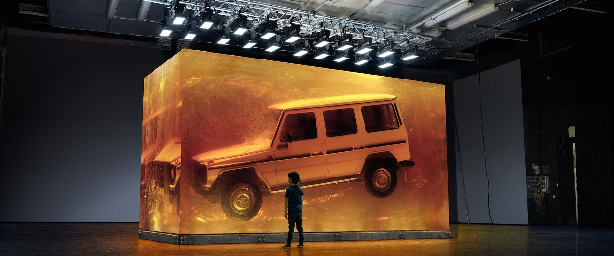 Mercedes-Benz Encases a G-Class in Resin