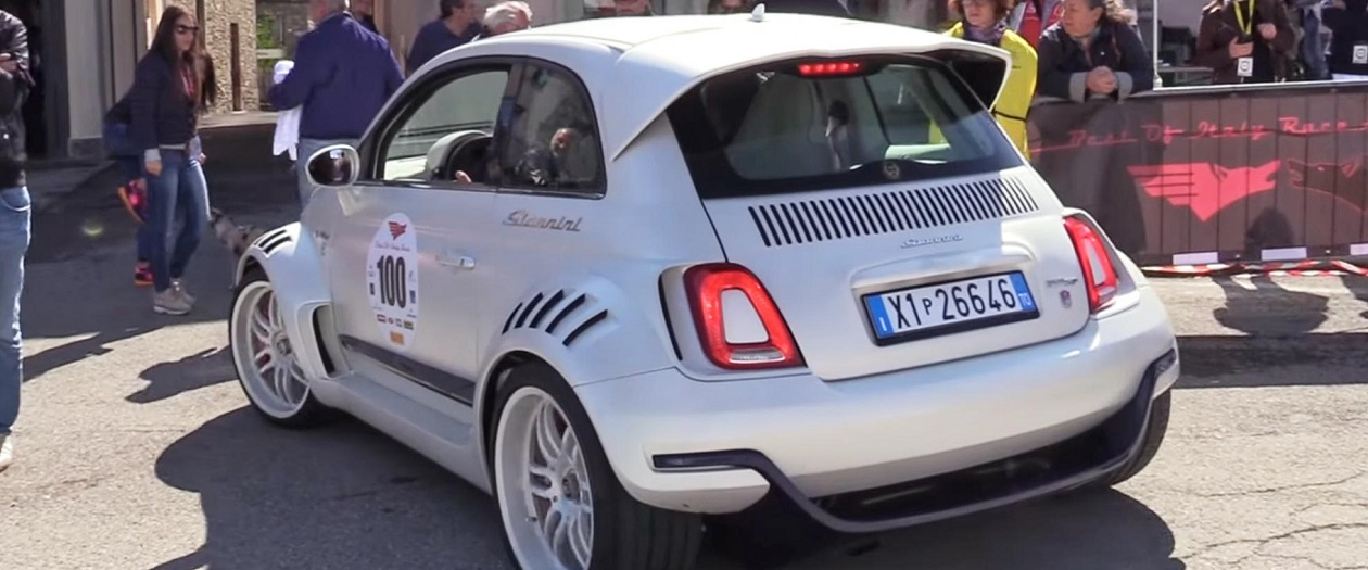 This Might be The Wildest Fiat 500 I've Seen
