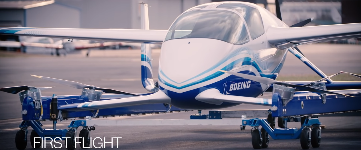 Boeing Successfully Tests their Autonomous Flying Car