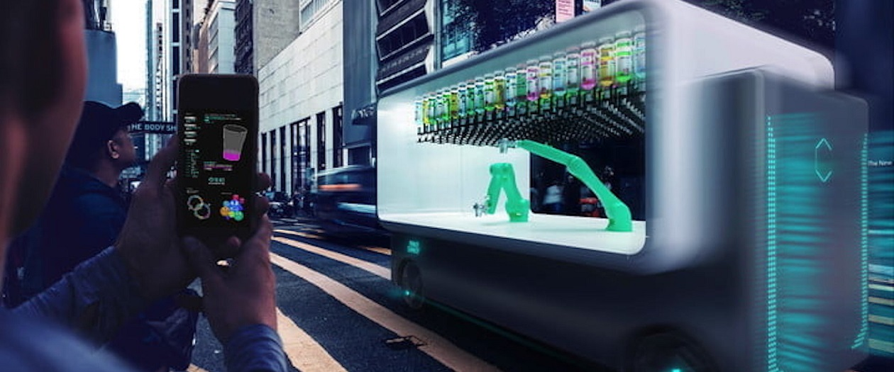 Italian Firm is Developing a Robotic, Self-Driving Bar