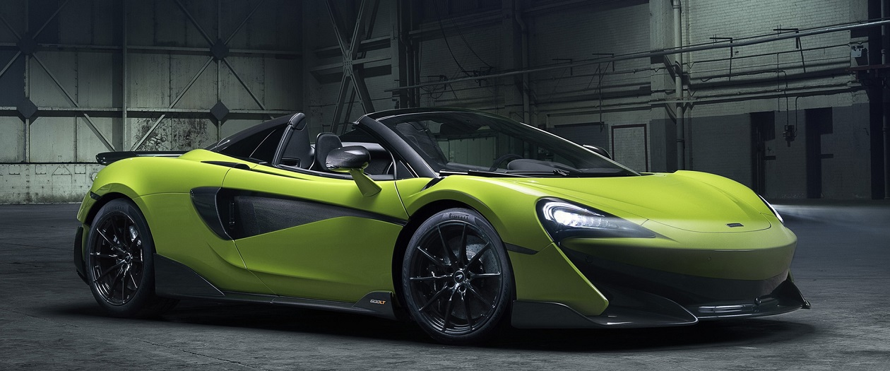 McLaren Reveals the Open-Top 600LT Spider