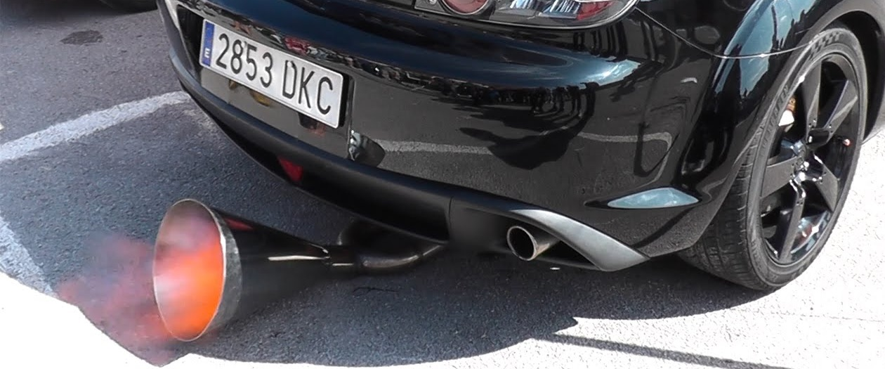 California Now Issues Hefty Fines for Loud Exhausts