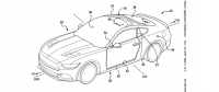 Ford Patents Glass Roof Windshield Design