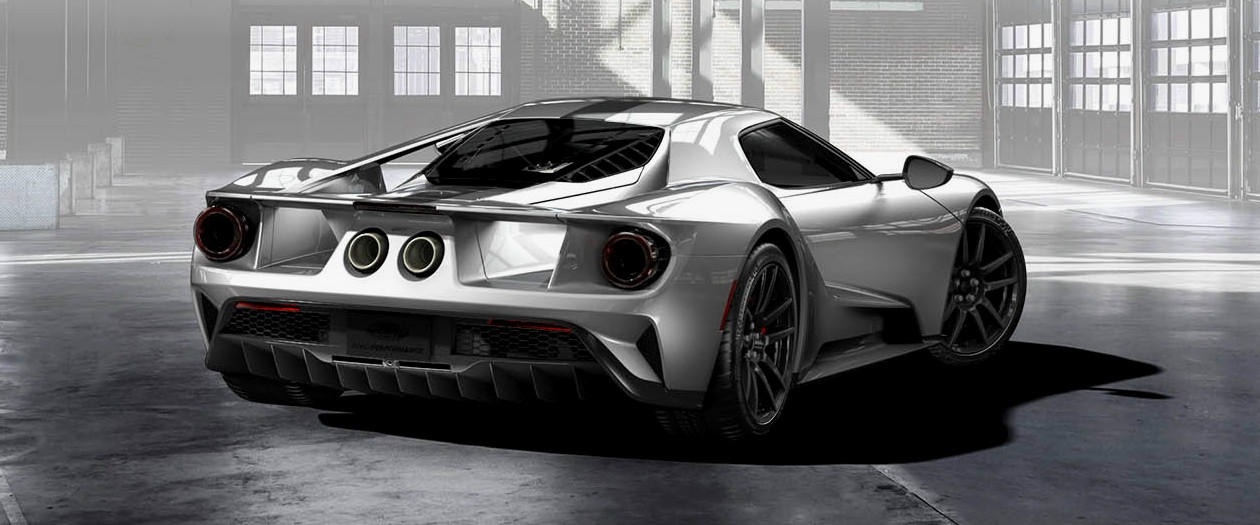 Ford Takes More Weight Out of Ford GT