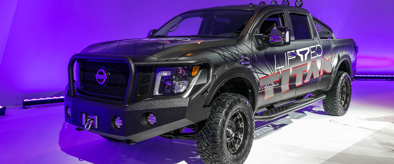 This Nissan Titan Lift Kit Won't Void Your Warranty