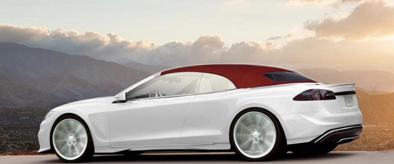 Ares Creates a Convertible Tesla Model S