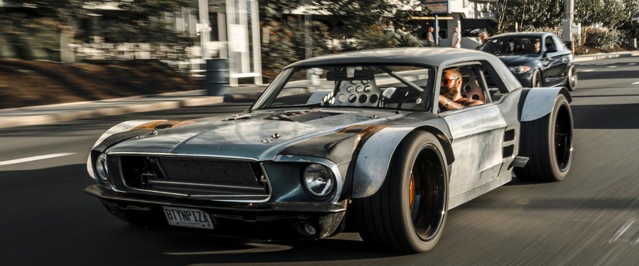 This Wide Body Mustang Is A True Frankenstein