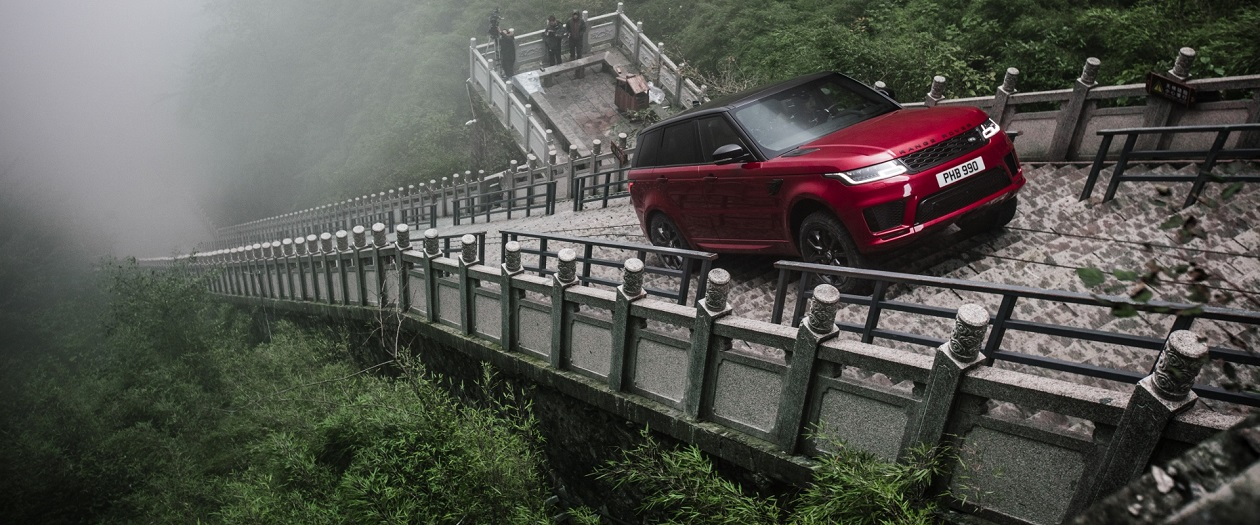 This Range Rover Sport Climbs Heaven's Gate