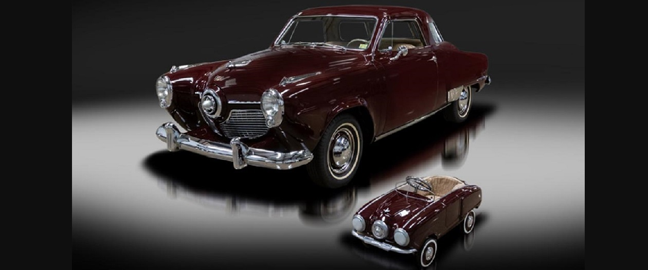 This 1951 Studebaker Champion Regal Starlight Comes With a Mini Kid's Car