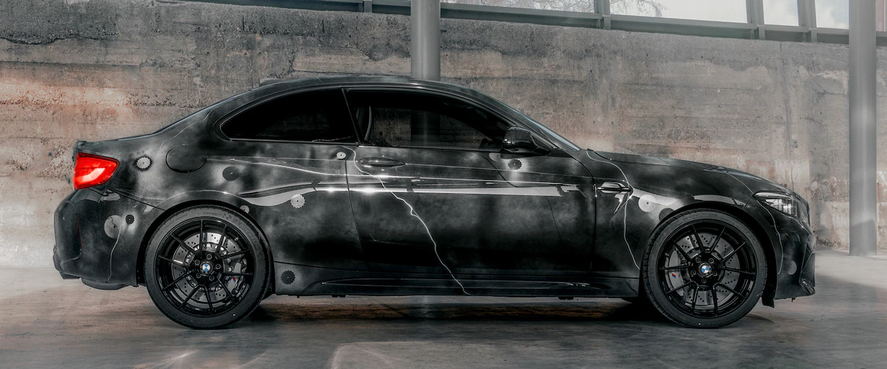 BMW Collaborates with Graffiti Artist for California Art Show