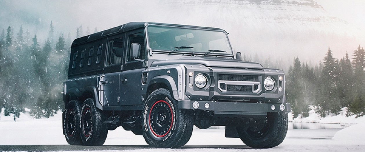 The Flying Huntsman 6x6 Civilian Carrier is a Monster for Families