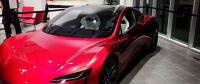 A Tesla Roadster 2020 Spotted at Gigafactory 1