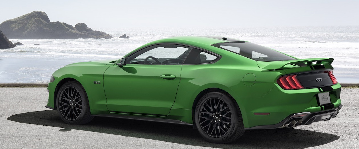 Ford Announced New Mustang Color Option, Need for Green