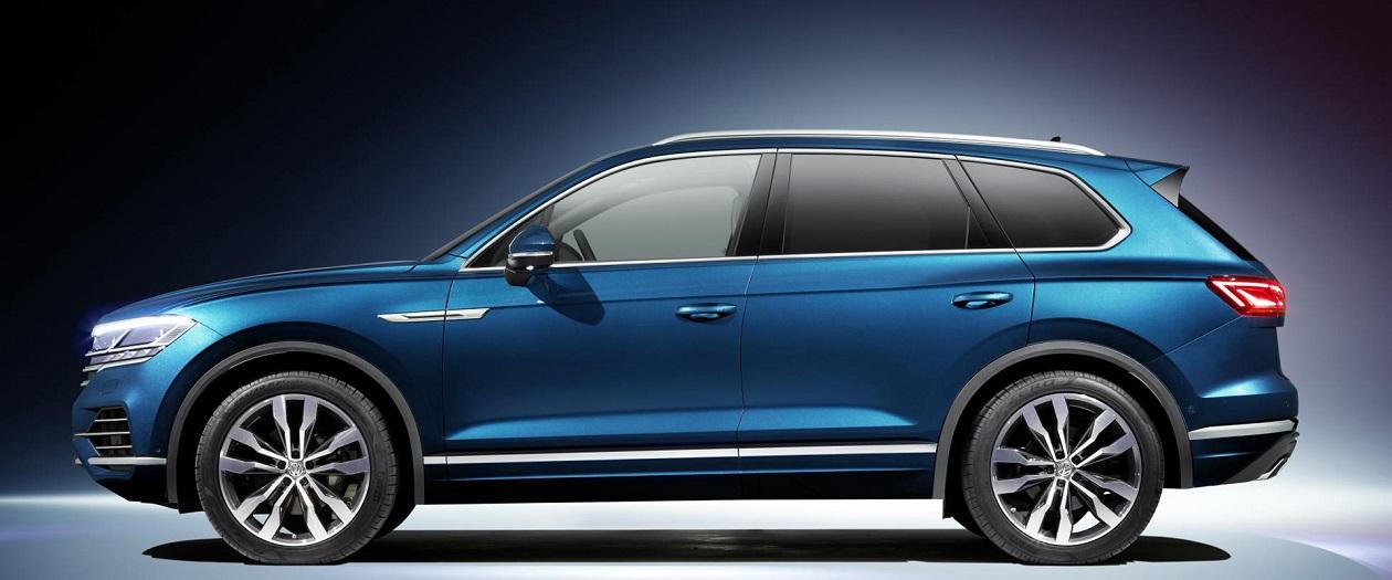 Volkswagen Reveals Redesigned Touareg
