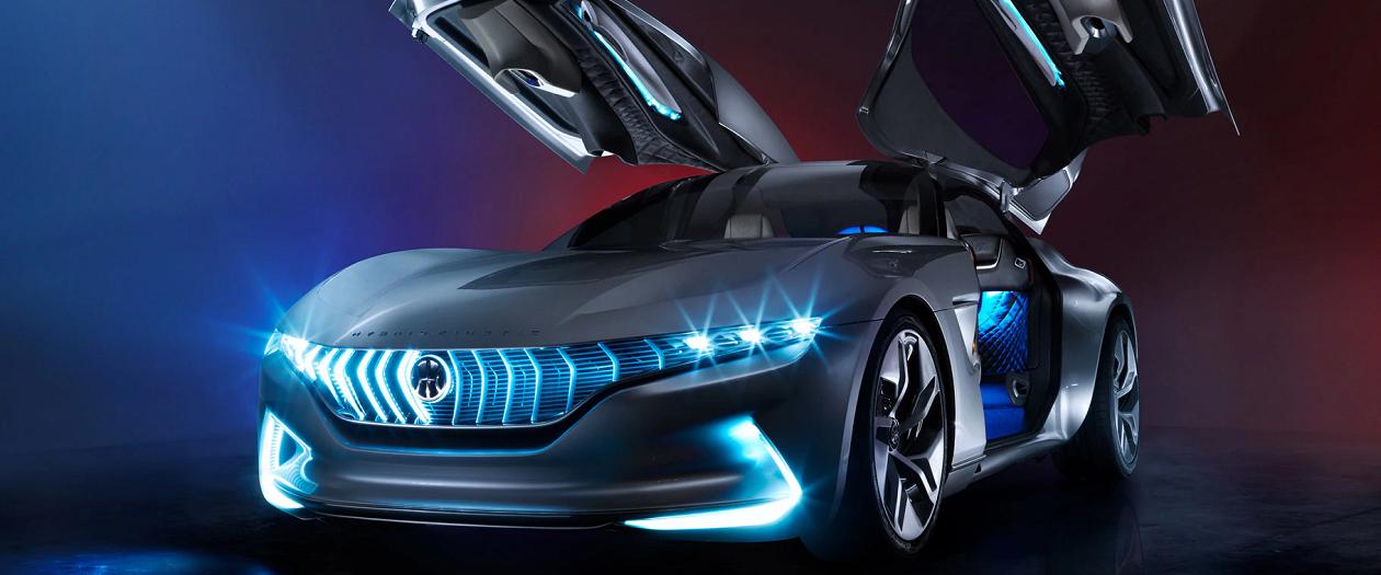 The Pininfarina Hybrid Kinetic GT Looks Like the Future