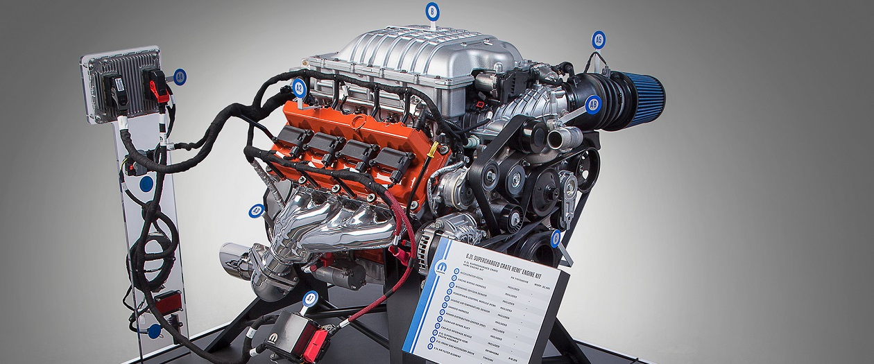 Get a Hellcat Engine for a $5k Discount
