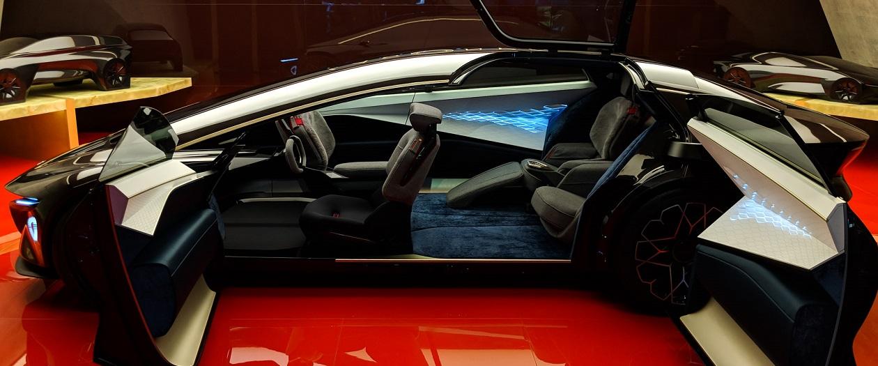 Aston Martin's Lagonda Vision Concept is a Step Beyond Wild