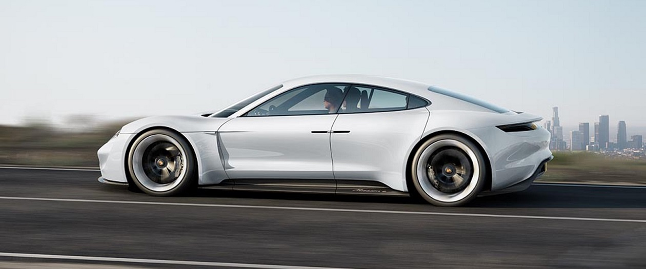Porsche Takes a Jab at Tesla's Model S