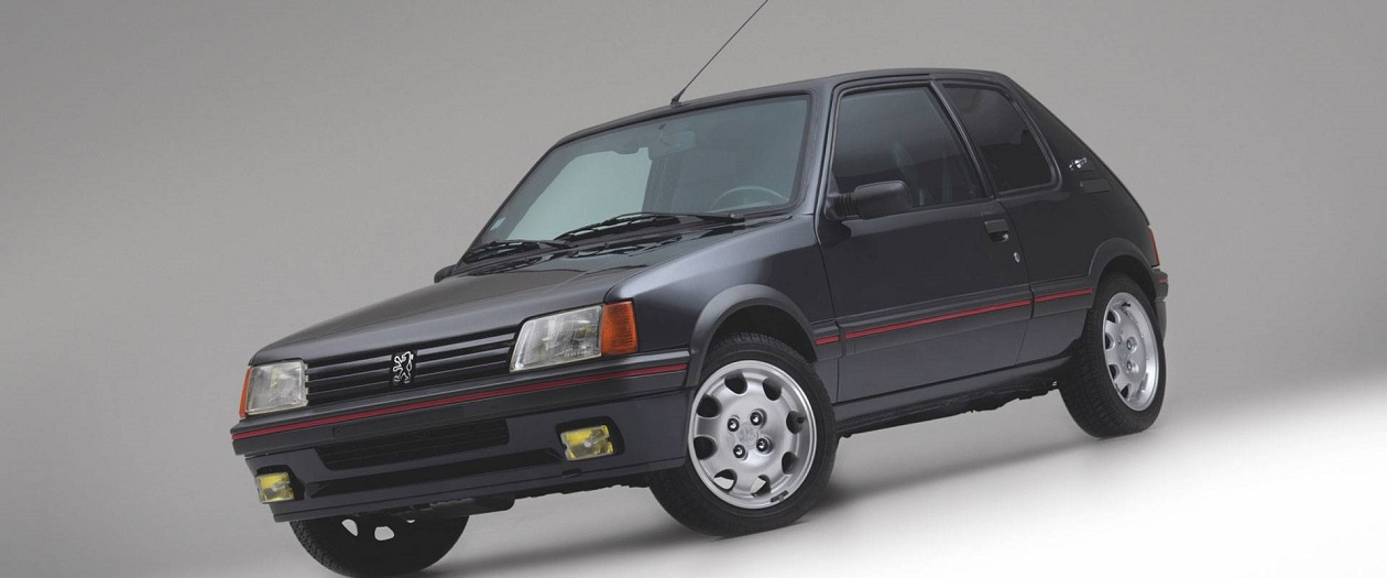 This Armored Peugeot 205 GTI has Hit the Marketplace
