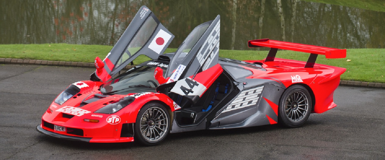 Now's Your Chance to Buy a Street Legal McLaren F1 GTR