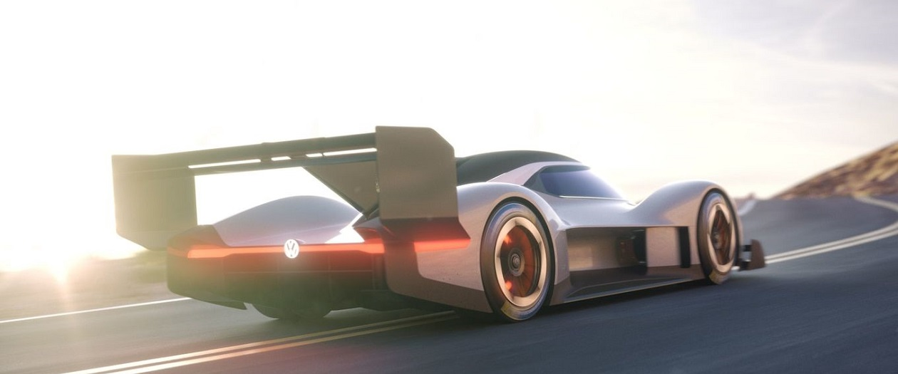 Volkswagen Plans to Break Records with the I.D.  R Electric Race Car
