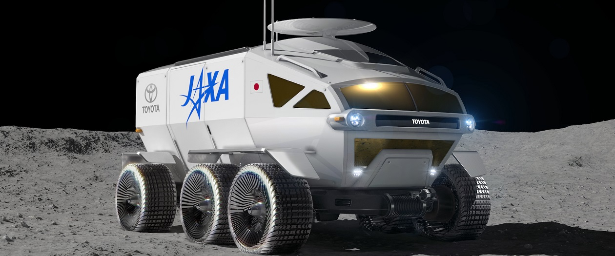 Toyota to Design a Lunar Rover for Japanese Space Mission