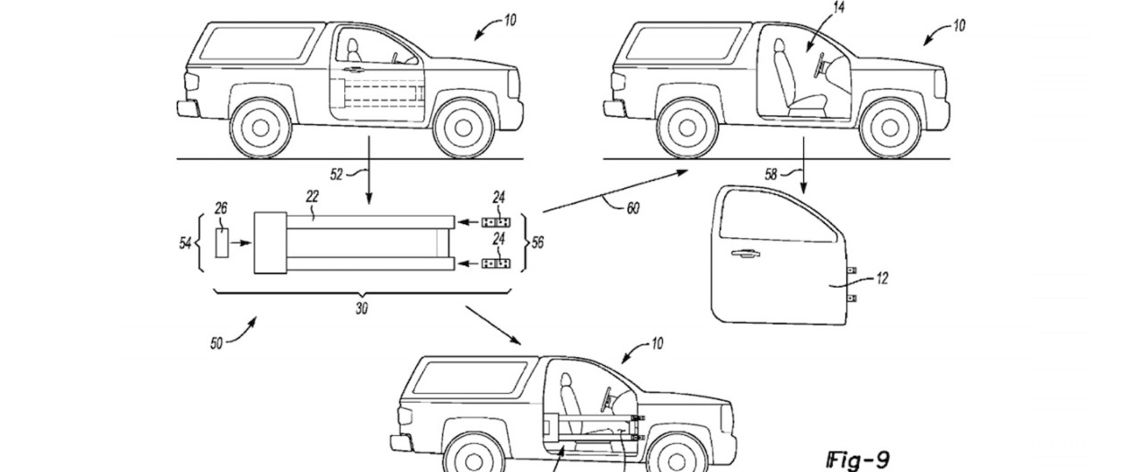 New Patents Imply A Removable Door System for 2021 Ford Broncos