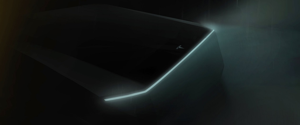 Elon Musk Teases Tesla Electric Pickup