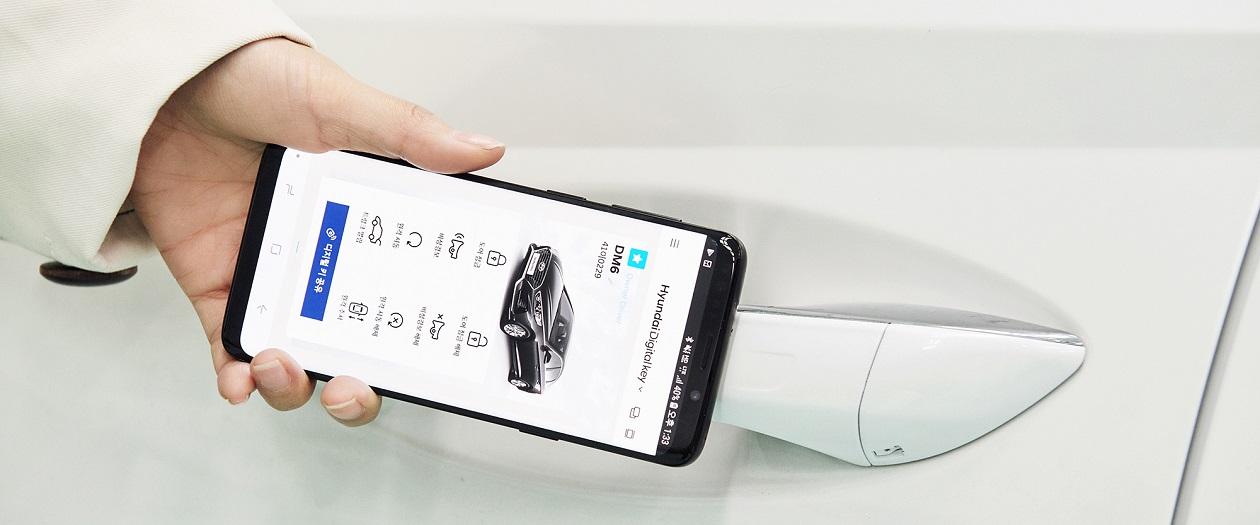 "Hyundai Unveils ""Smartphone-As-Key"" Technology"