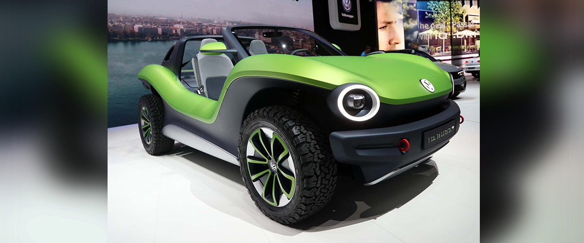 Volkswagen Debuts the Electric ID Buggy Concept