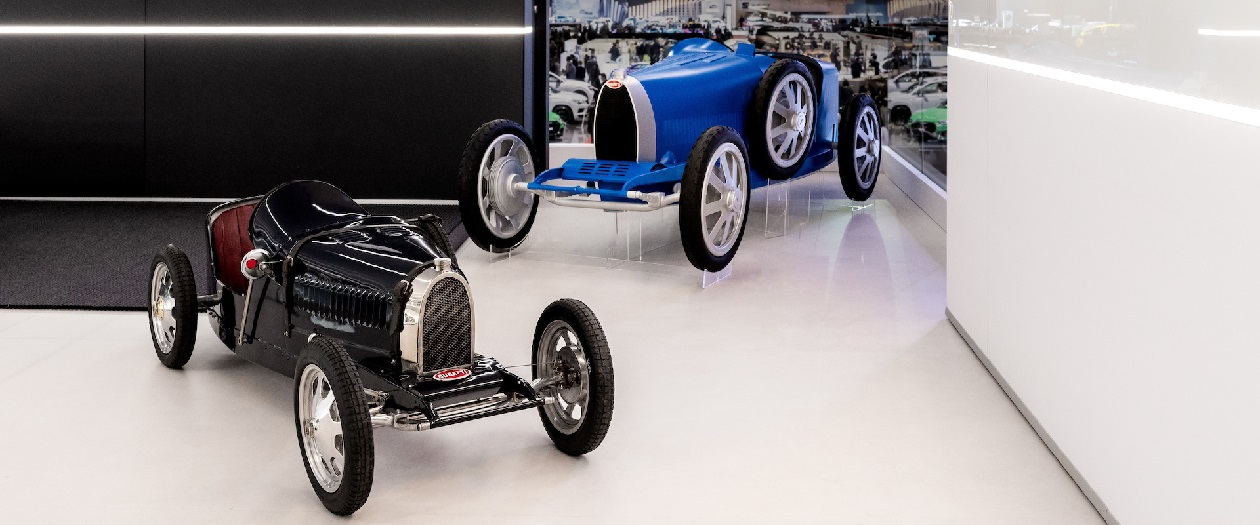 Bugatti Celebrates 110 Years With The Bugatti Baby 2 Kid's Car