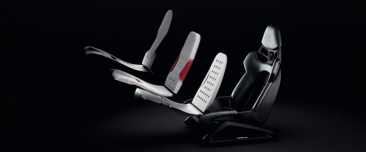 Porsche to Offer 3D Printed, Custom Shaped Car Seats