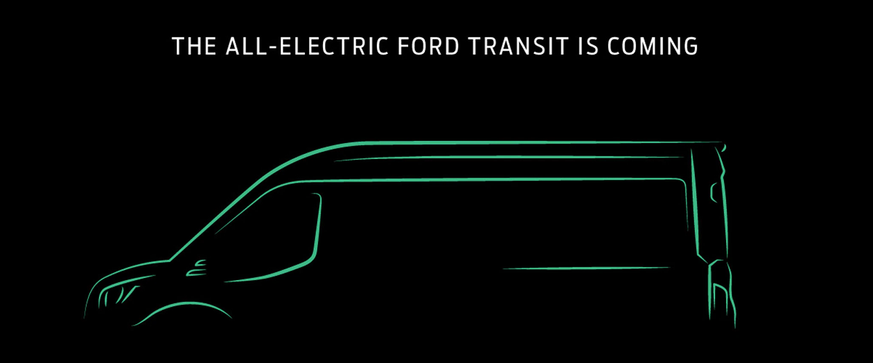 The Ford Transit is the Brand's Third Electric Vehicle