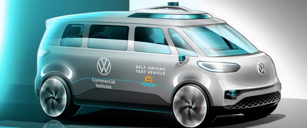 Volkswagen Teases Self-Driving Commercial Van