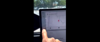 Tesla Model S/X Update Adds Touchscreen Shifting Option