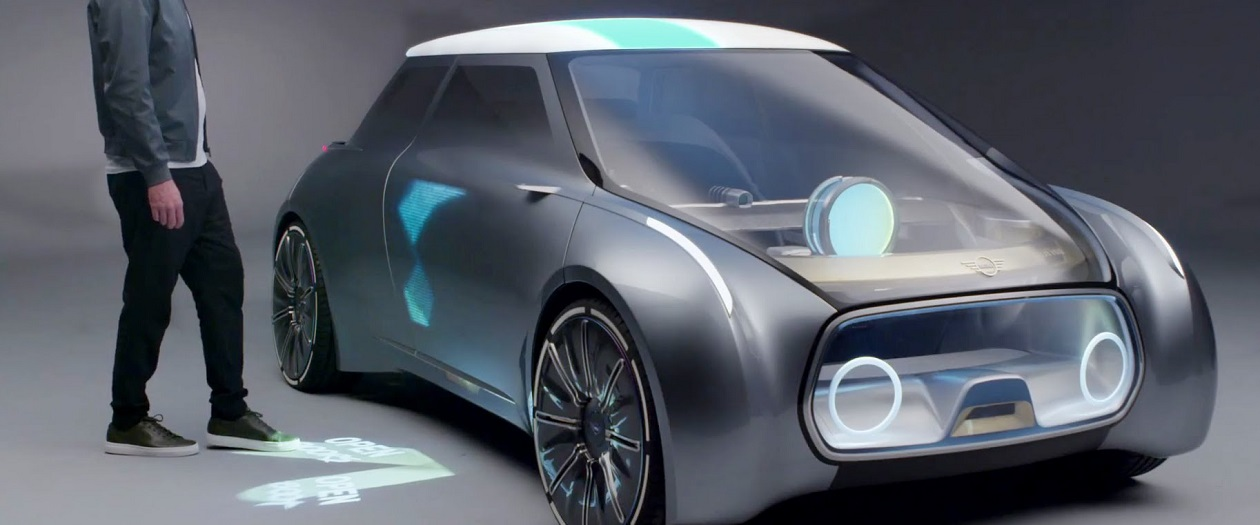 BMW Mini Vision Next 100 will Change Color Based on the Driver's Mood
