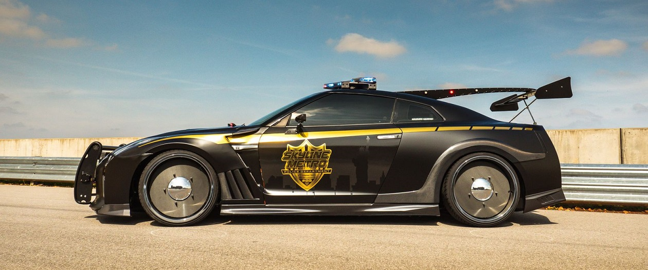 The Nissan GT-R Copzilla is Scary