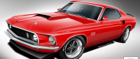 Classic Recreations Offers new Mustang BOSS line