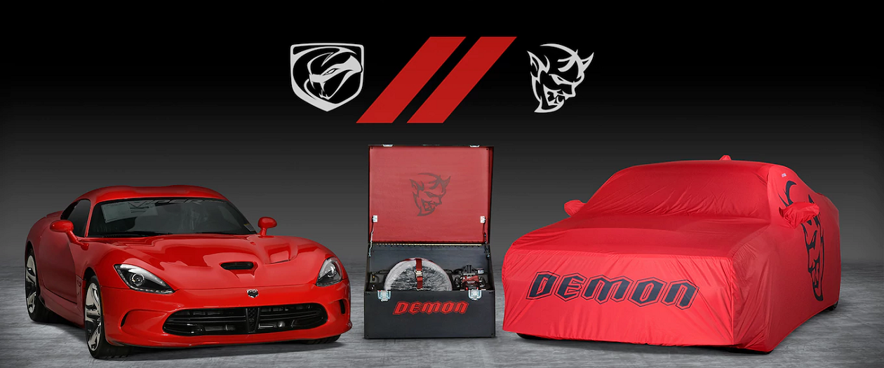 Dodge to Auction a Viper and Demon Two-Pack