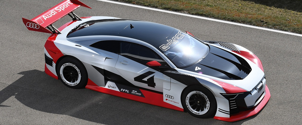 Digital Audi Car Made Real for Formula E Race Taxi Job