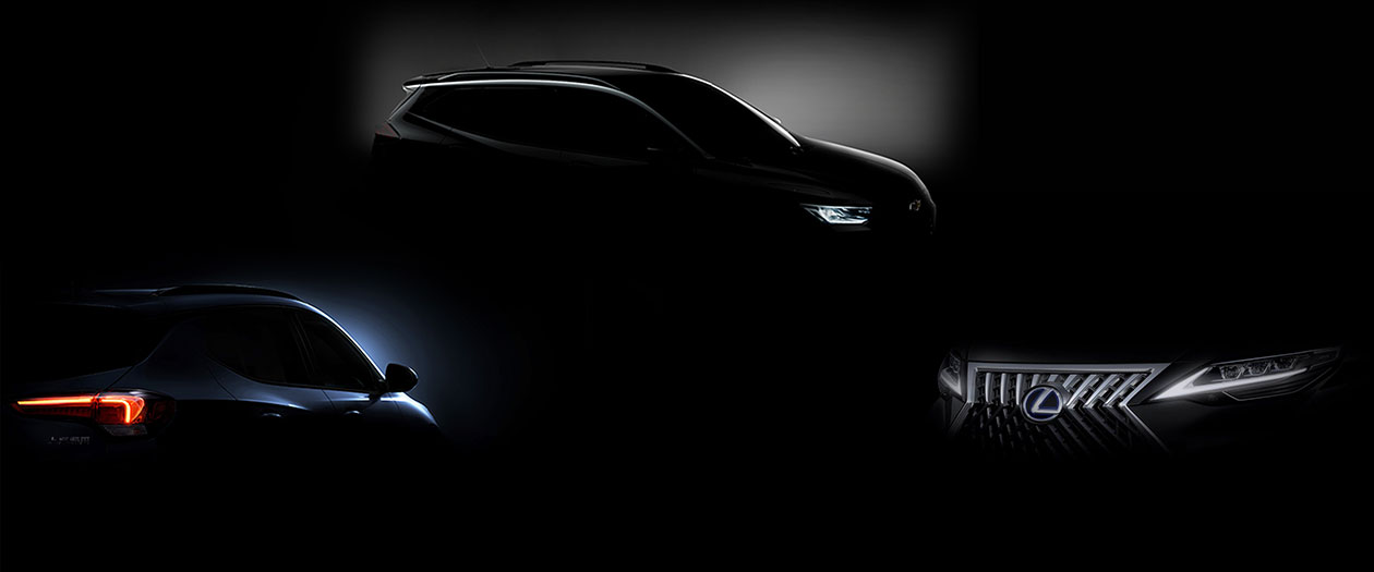 Lexus, Buick, Chevy Release Teasers for 2019 Shanghai Auto Show