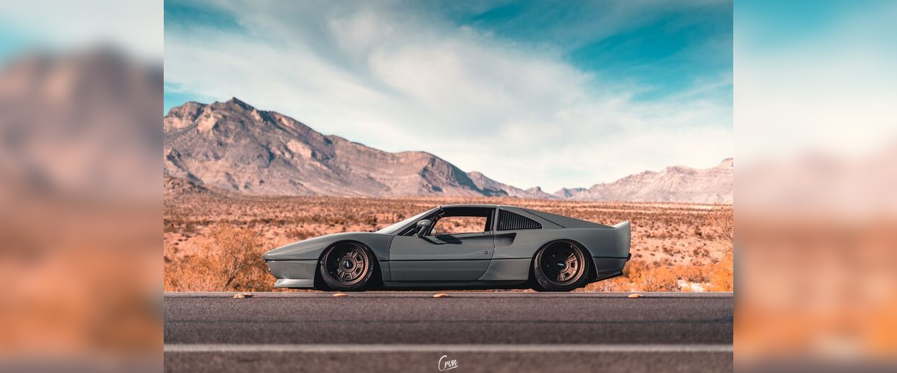 Casil Motors Resto-Mods the Ferrari 328 into the BB3X8