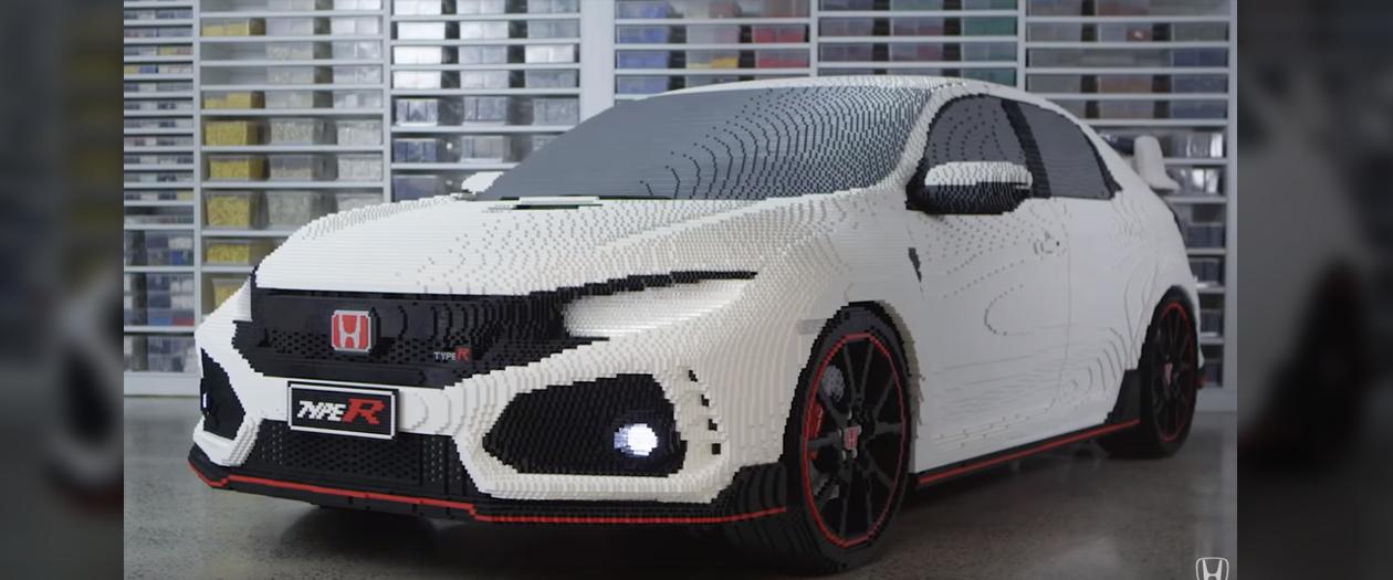 Honda Built Their Own Life-Size Civic Type R