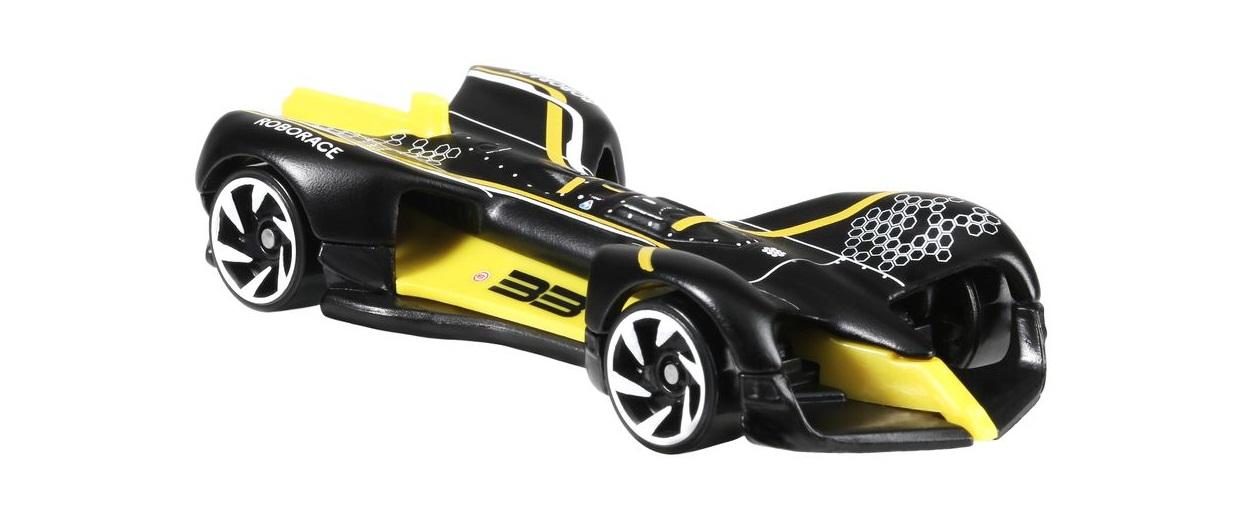 Hot Wheels Releases Roborace Self Driving Race Car Model
