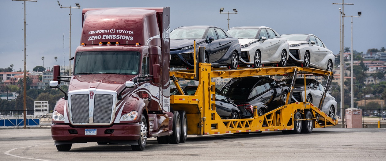 Toyota, Kenworth Launch Two-Phase Hydrogen Semi-Truck Plan