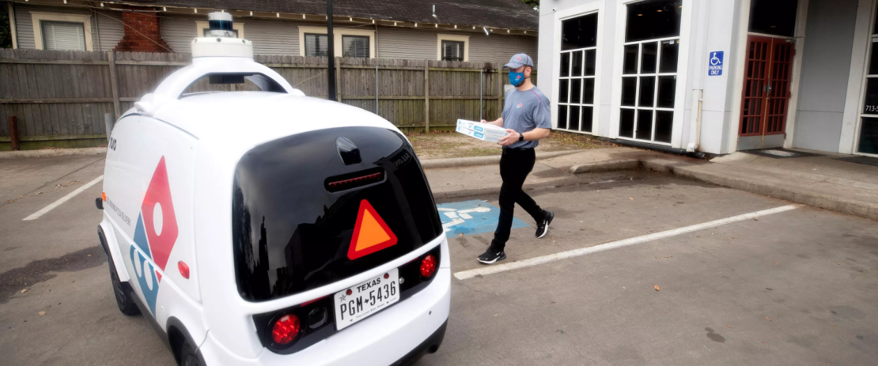 Dominos is Starting Their Own Self-Driving Delivery Service