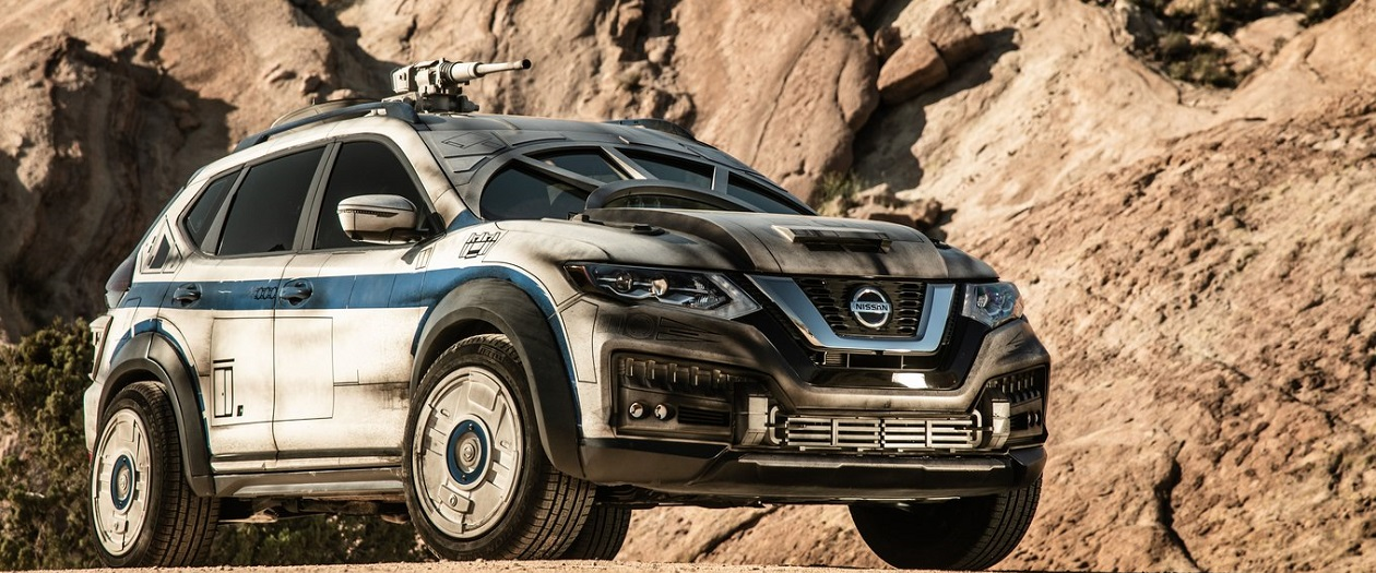 Nissan Transforms a Rogue into a Star Wars Millennium Falcon
