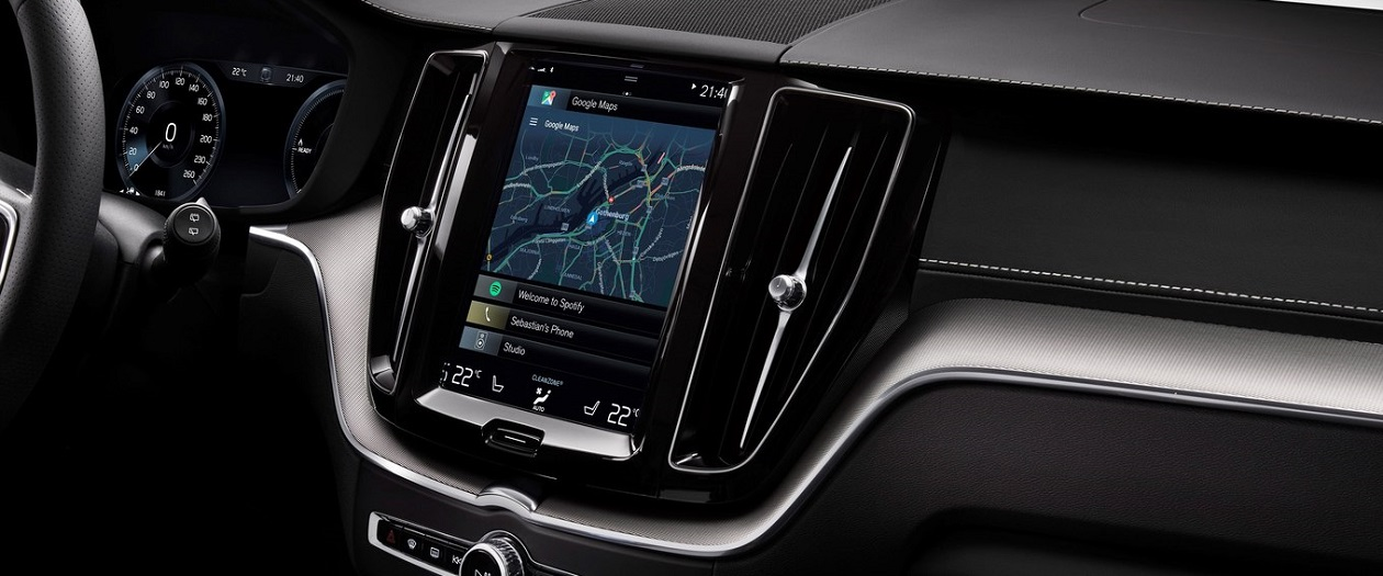 Future Volvo Cars will Come with Google Maps
